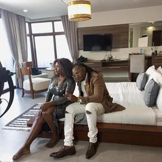 Nyota Ndogo back to her old Mzungu photo