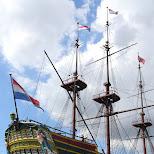 Scheepsvaartmuseum in Amsterdam, Noord Holland, Netherlands