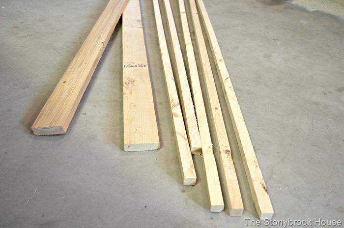 Scrap Pallet Wood