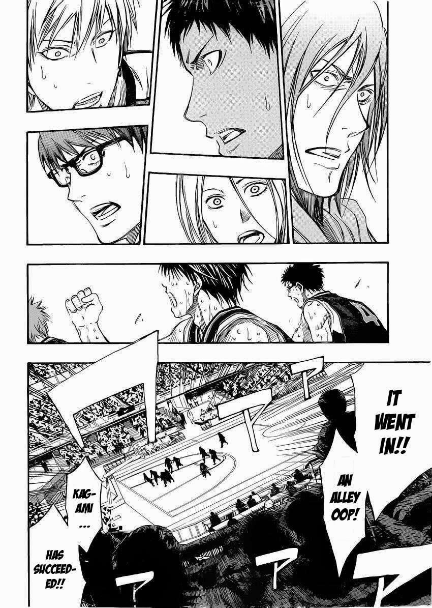 Kuroko no Basket Manga Chapter 264 - Image 10