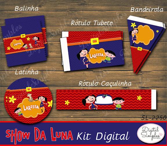 Kit Digital Show da Luna  .....artesdigitalsimples@gmail.com