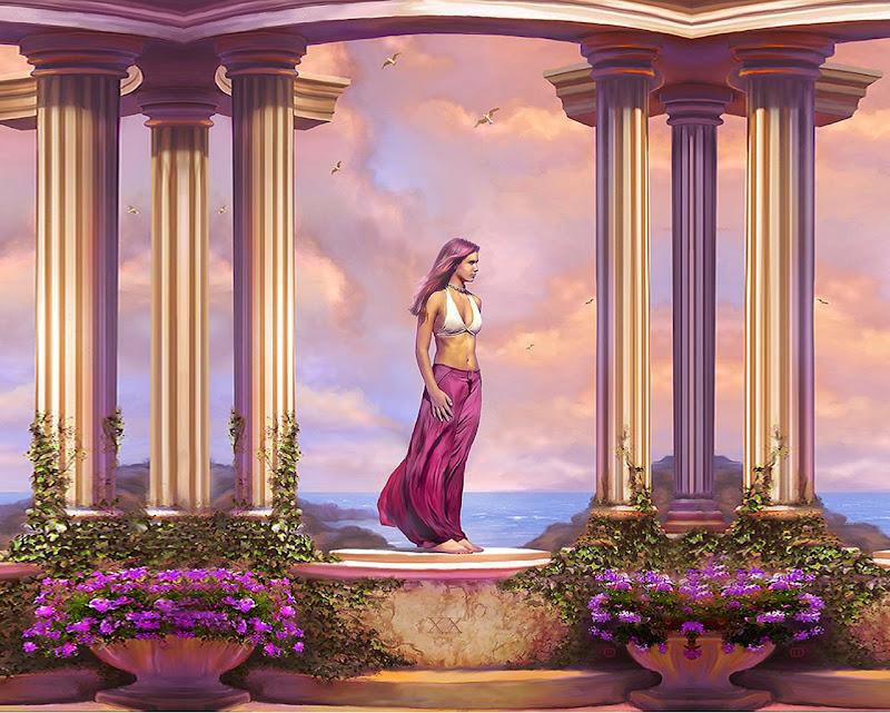 Girl In Rose Light, Magic Beauties 3
