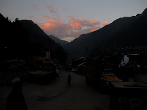 Sunset at Sharda, Azad Kashmir