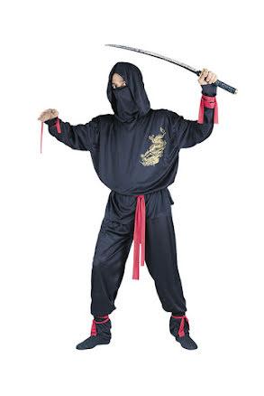 Ninjadräkt, vuxen
