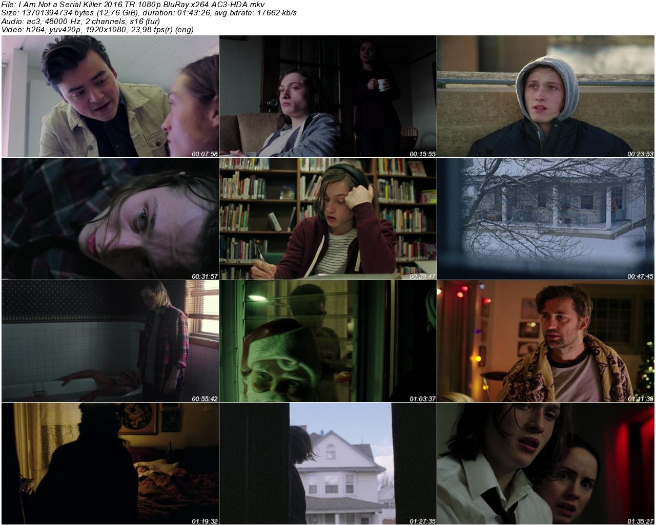 Ben Katil Değilim 2016 - 1080p 720p 480p - Türkçe Dublaj Tek Link indir