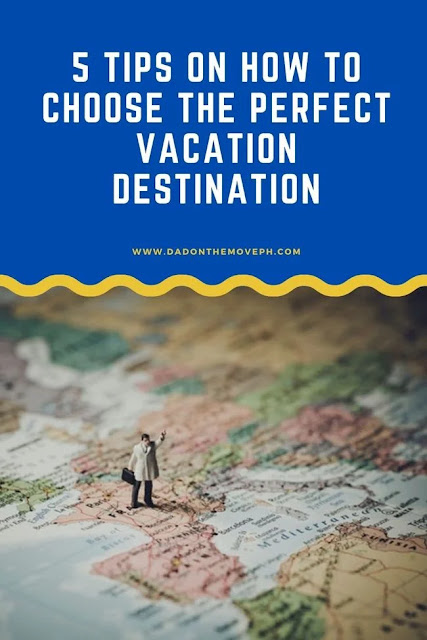 How to plan the perfect vacation destination