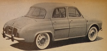 Renault 1960 Ondine