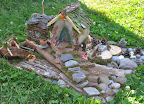 Fairy House Tour - Fam/Best Natural Materials - Alli and Mommy