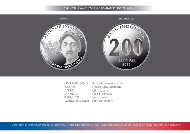 uang NKRI baru Rp200 logam