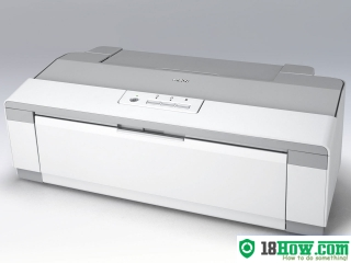How to reset flashing lights for Epson PX-1004 printer