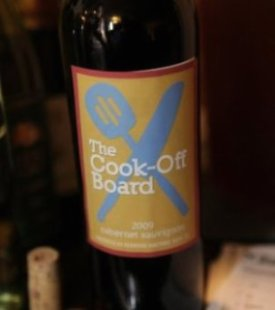 The Cook-Off Board Wine!