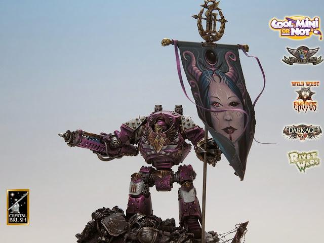 Emperor's Children Contemptor Dreadnought