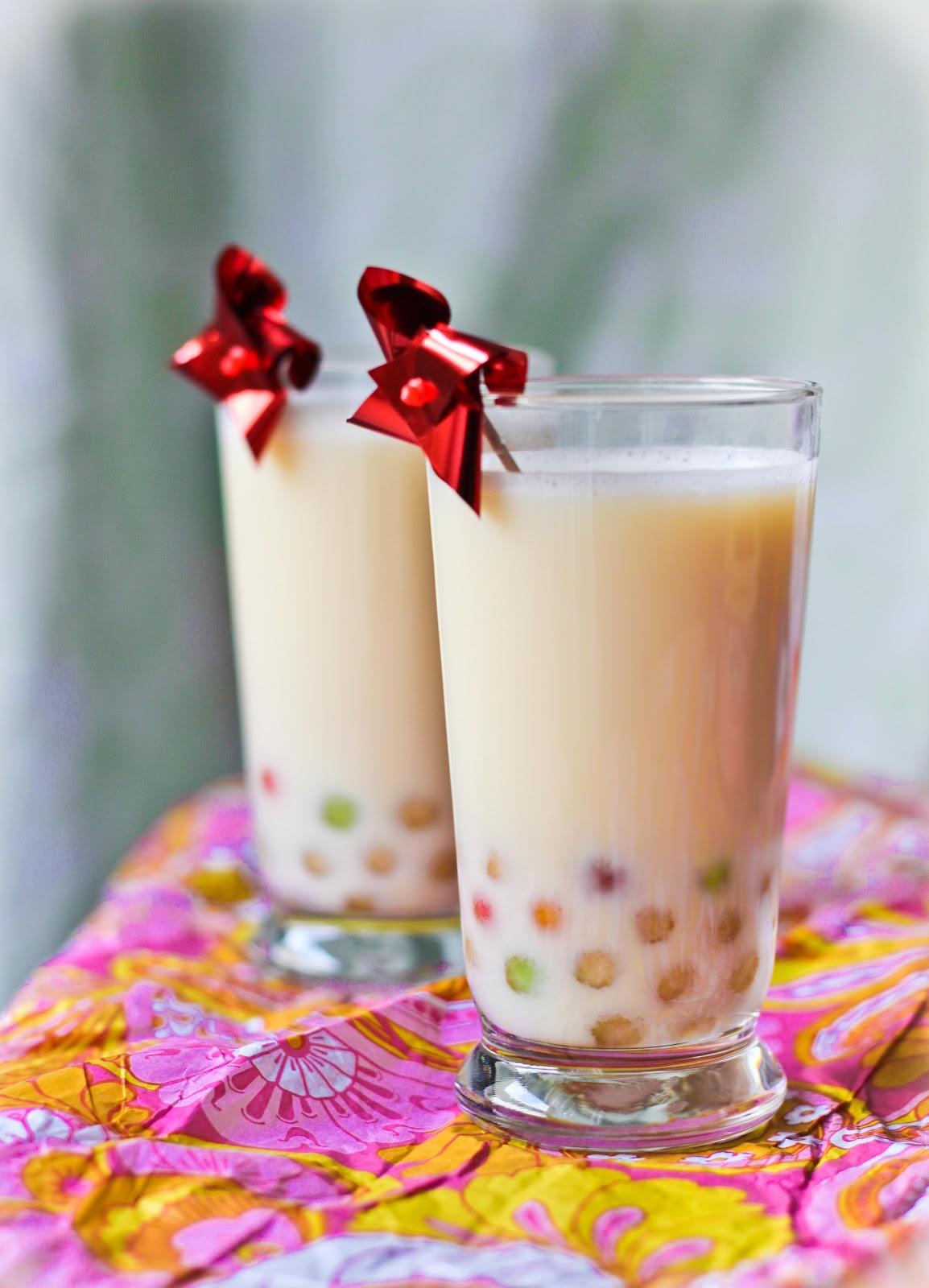 Jasmine Green Milk Tea Boba — Adventures in Cooking