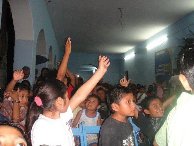 Many responded to the call to accept Jesus following the film.