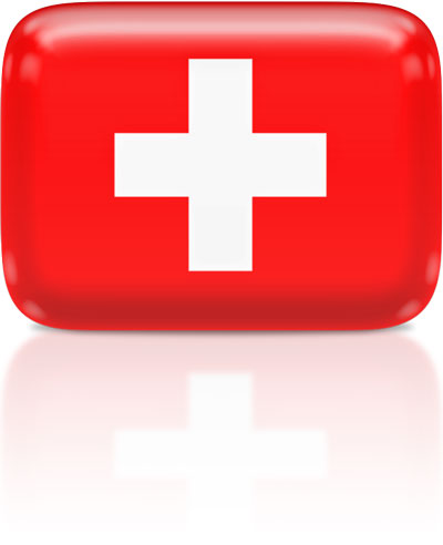 Swiss flag clipart rectangular
