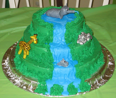 Jungle Animal Cake 3