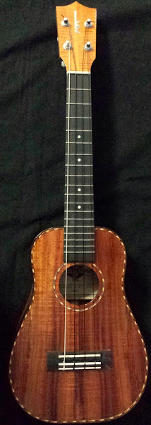 The Kamaka bell shaped concert ukulele known as the Ohta San