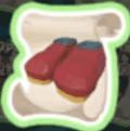 春節のブーツの設計図