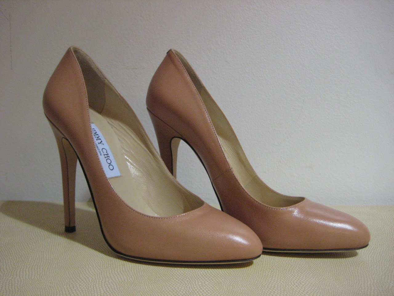 Jimmy Choo Peach Pumps