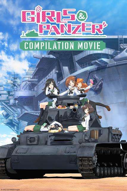 Girls und Panzer Compilation: The 63rd National High School Sensha do Games