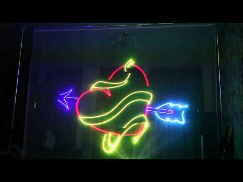 Лазерное Шоу в Самаре