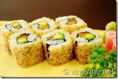 Món ngon Sushi ngày họp mặt