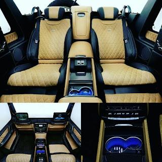 Mercedes Maybach G650 Landaulet G-Wagon interior