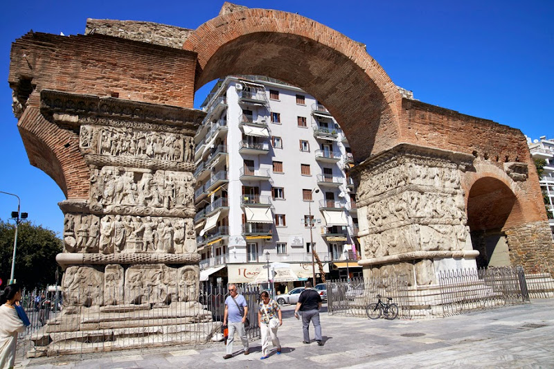 9. The Arch of Galerius, IV Century