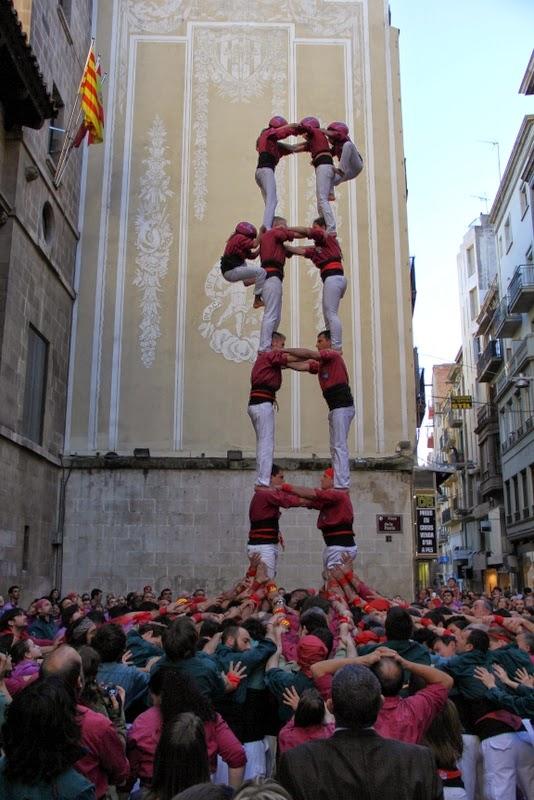 19è Aniversari Castellers de Lleida. Paeria . 5-04-14 - IMG_9445.JPG