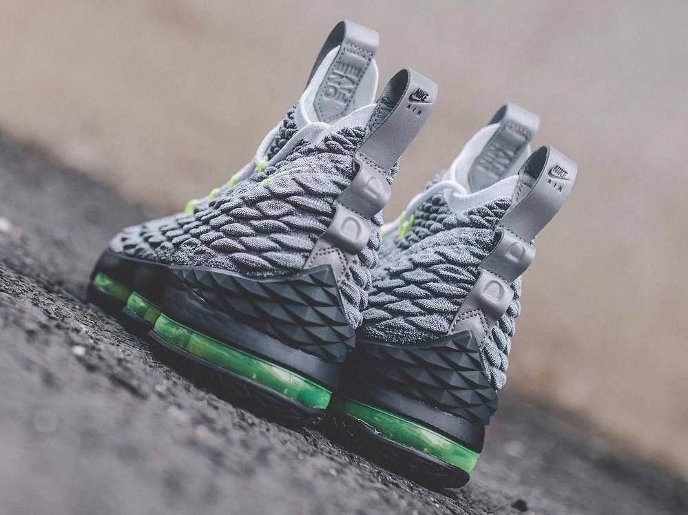 6fcf91a314e Nike LeBron Watch 15 Chapter 4 is Inspired by Air Max 95  Neon ...