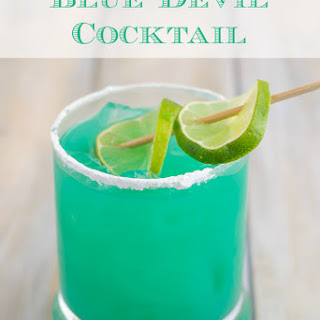 Orange And Blue Cocktails Recipes.