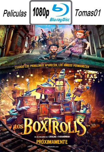 Los Boxtrolls (The Boxtrolls) (2014) BRRip 1080p