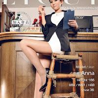 LiGui 2015.04.18 网络丽人 Model 安娜 [56P] cover.jpg