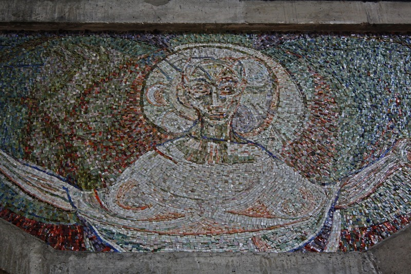 Original mosaic work - St Paul's Bow Common