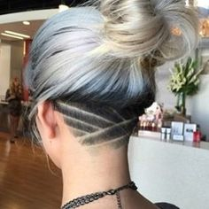 AMAZING COLORFUL UNDER CUT HAIR STYLES FOR WOMEN 3