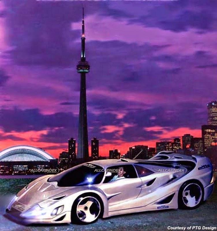 Supercar Of Fantasy World