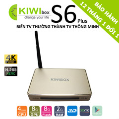 tivi box android kiwi s6 plus