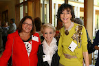 Gateway Guild members Susie Strauss Breen and Ellen Terry with Nancy Halbreich, Family Gateway Advisory Board founding chair and Gateway Guild member
