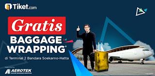 promo gratis baggage wrapping dari aerotek