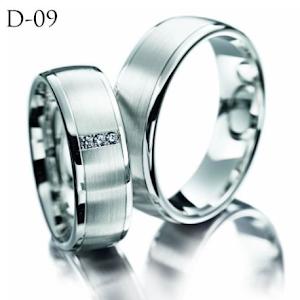 Custem Cincin Kawin Cincin Couple Cincin Tunangan Perak D-09 Sterling