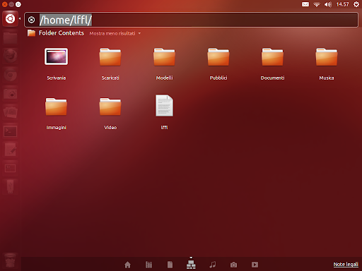 Unity Filesystem Tree Lens su Ubuntu 12.10