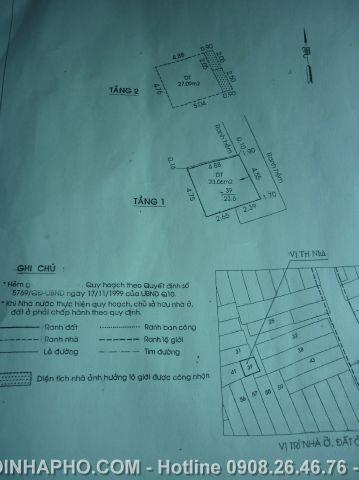 Bán nhà 3 Tháng 2 , Quận 10 giá 1, 45 tỷ - NT111