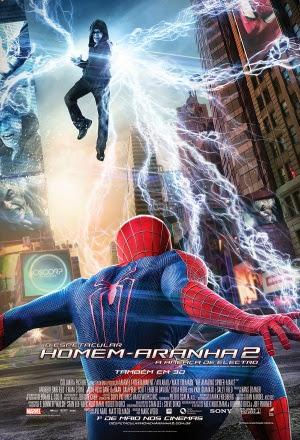 Filme Poster O Espetacular Homem-Aranha 2 - A Ameaça de Electro TS XviD & RMVB Dublado