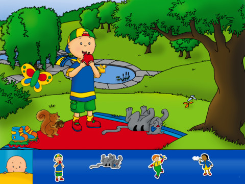 Caillou Stickers Image 1