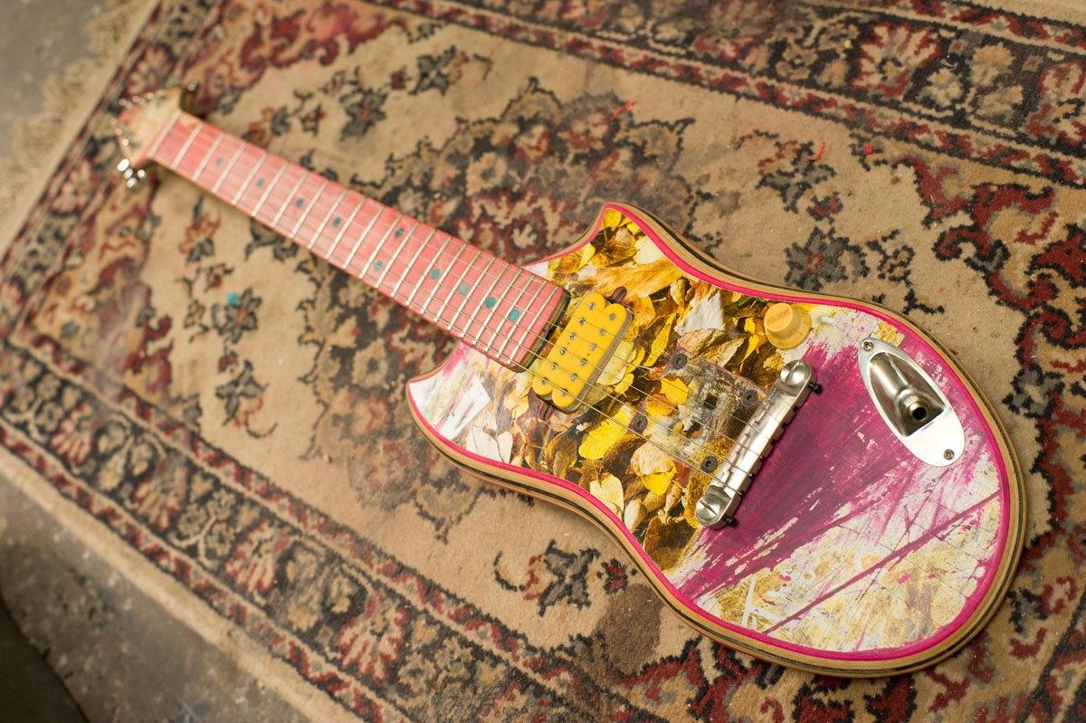 *Skate Guitar 回收再生:電音滑板吉他! 3