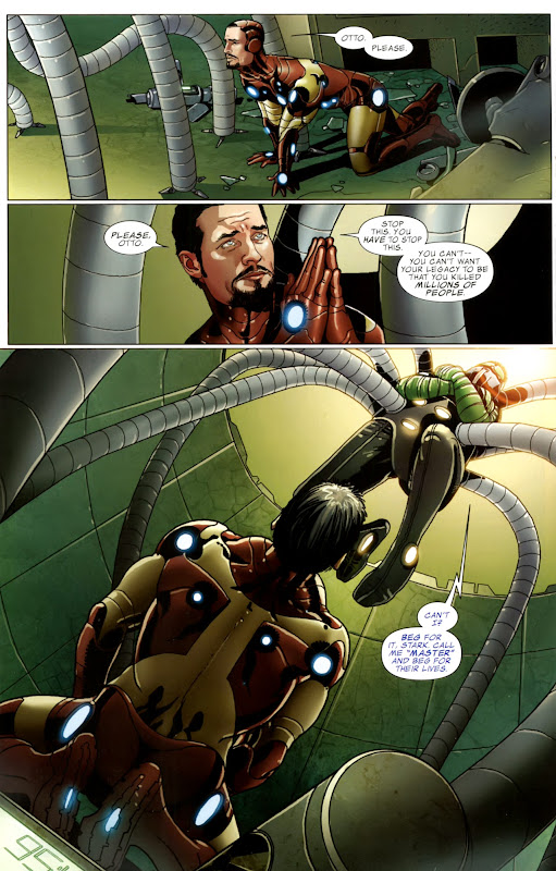 Invincible Iron Man #503 page 14