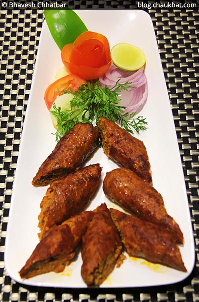 Kundan Mutton Seekh Kebabs at SocialClinic Restobar in Koregaon Park area of Pune