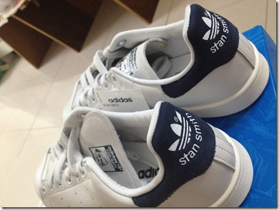 adidas Originals / Stan Smith / white-navy