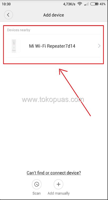 cara mudah menggunakan wifi range xiaomi repeater