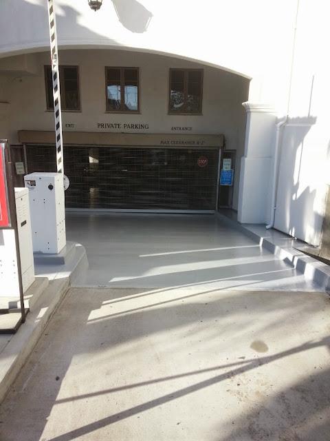 La Jolla Presbyterian Deck Waterproofing - 20131127_144511